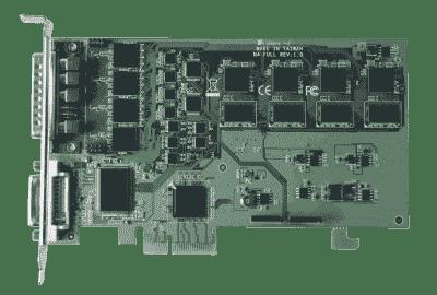 Carte industrielle d'acquisition vidéo, PCIe x4 4ch SDI + 1ch DVI/VGA/HDMI HW Video Card