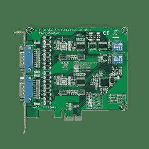 Carte PCIex1 série 2-ports RS-232 prot. surtension garantie 5 ans