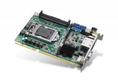 Carte mère industrielle demi-longueur bus PCI/PCIE, PICMG 1.3 H/S SHB, C236, 2GbE, 2 display