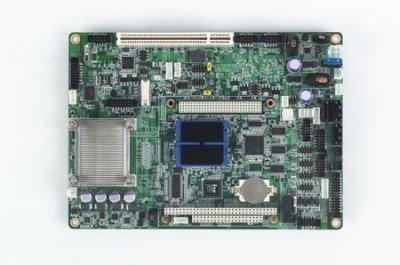 Carte mère industrielle biscuit 5,25 pouces, Intel N450+ICH8M 2GigaLAN/5COM/3SATA/CFII/M-PCIe