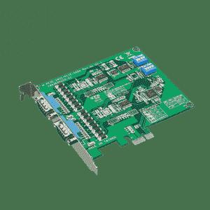 Carte PCIex1 série 2-ports RS-232 isolé&surtension garantie 5 ans
