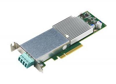 Carte ethernet fibre optique, 2-ports 10G fiber bypass NIC avec Intel X710