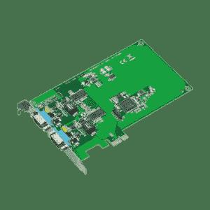 Carte PCIexpress de communication série, 2-ports CAN isolés