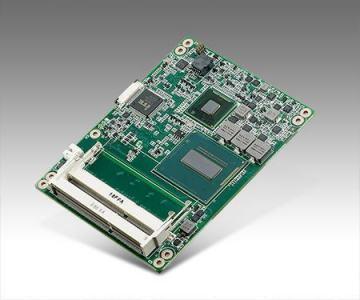 Carte industrielle COM Express Basic pour informatique embarquée, i5-4402E 1.6G 25W 2C COMe Basic non-ECC