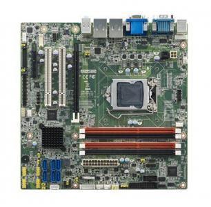 AIMB-584QG2-00A1E Carte mère industrielle i7/i5/i3/E3 mATX avec VGA/DVI/DP 6COM