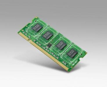 Module barrette mémoire industrielle, SQRAM 1G SO-DDR2-667 128x8 I-GRD SAM-F