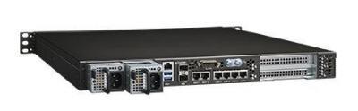 Serveur industriel haute performance, 1U HPS w GSMB-3010/Xeon-D 1527 4C/STD AC/x8