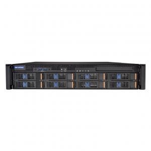 Rack 2U pour carte mère ATX/EATX avec 8 baies disques hotswap