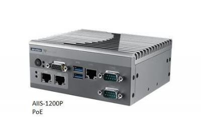 AIIS-1200U-S6A1E PC industriel pour application de vision, N3160 1.6G, 2 USB3.0, 1 LAN, 4 USB3.0, 2 COM,DIO