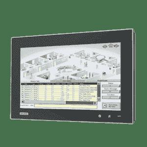 "Panel PC fanless 15.6"" 16:9 Multitouch avec i3 et 4G de RAM"