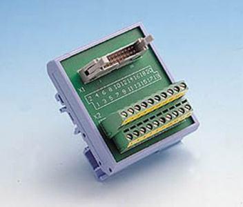Bornier ADAM 20 pin Rail Din pour carte acquisition