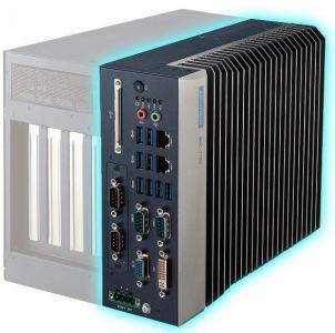 PC fanless industriel Intel core 6ème/7eme gen, 3 display, 9 USB