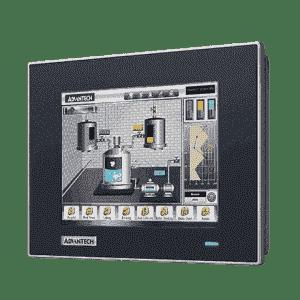 """Ecran industriel tactile, 6.5"""" résistif avec VGA et DP température étendue"""