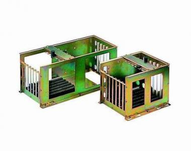 Châssis pour PC industriel, 6-Slot Full-sized Card Cage w/o B/P RoHS