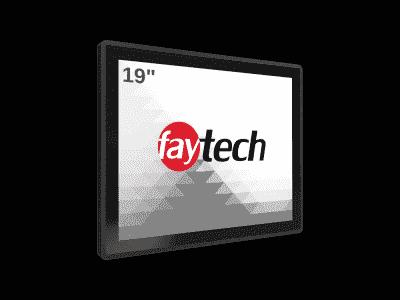 """FT19V40CAPOB Panel PC 19"""" basé sur Android 6 - ARM V40, 2Go de RAM, 8 Go de flash, IP65, WiFi"""