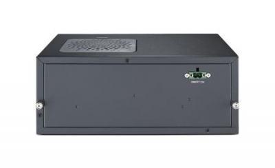 AIIS-3410P-00A1E PC industriel pour application de vision, H110, DDR4, 4 PoE, 2 LAN, 4 USB3.0, PCIe/PCI ext