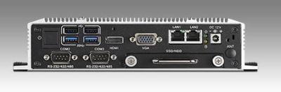 ARK-1550-S9A1E PC fanless industriel, Intel Core i5-4300U 1.9GHz w/HDMI+LAN+GPIO