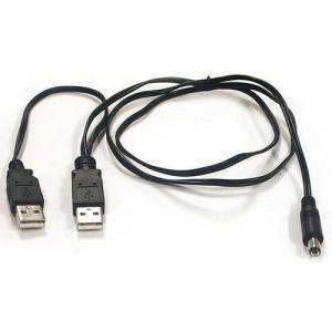 Convertisseur fibre optique, USB Power Câble (double for ALL MiniMc Types]