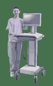 AMIS-50-PCC-D0-AE Chariot pour application médicale, AMIS-50_Box PC w/AIMB-230-Celeron, DC, Fanless