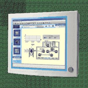 """Ecran 19"""" encastrable industriel tactile résistif VGA + DVI"""