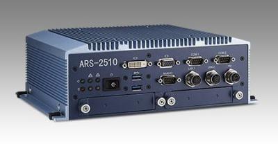 ARS-2511T3-40A1E PC industriel fanless EN50155 pour application ferroviaire, Intel Core i7 3517UE, midd function, DC 110V