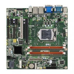 AIMB-503G2-00A1E Carte mère industrielle, MicroATX with VGA/DVI 10COM/9 USB/DUAL LAN