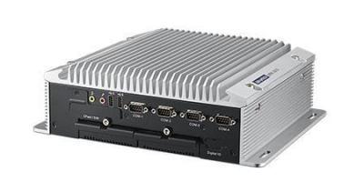 PC industriel fanless, Intel iCore 3ème génération, 2LAN+4USB3.0 avec 2 disques extractibles