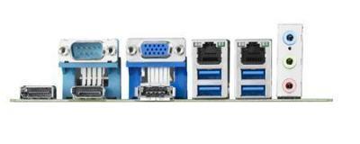Carte mère industrielle, miniITX LGA1150, L SKU, VGA/DP-HDMI/Single GbE