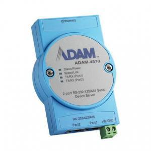 Passerelle série ADAM, 2-port RS-232/422/485 Serial Device Server