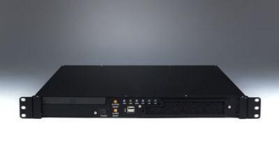 """Châssis 1U pour PC rack 19"""", ACP-1010BP avec carte de contrôle intelligente"""