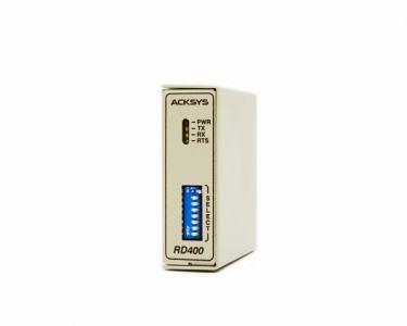 Convertisseur RS232 <-> RS422/485, retournement automatique, format rail din