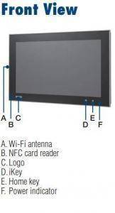 """Option Moniteur ou écran industriel tactile 15"""" pour TPC-5000, PCT touch, Wifi, NFC, BT"""