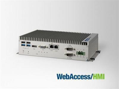 PC industriel fanless à processeur i3-4010U, 8G RAM avec 4xEthernet,4xCOM,2xmPCIe