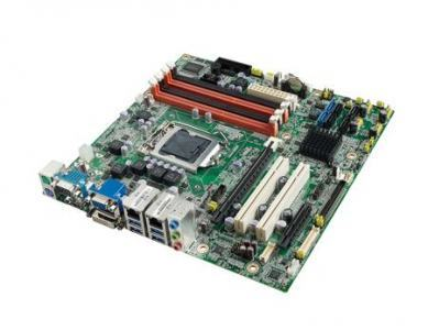 AIMB-582QG2-TPA1E Carte mère industrielle, C2D LGA775 mATX FSB1066 VGA GbE & 10COM