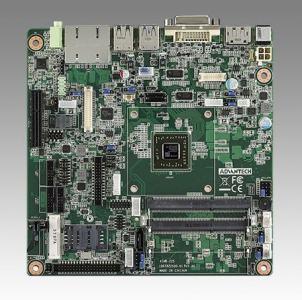 AIMB-225G2-00A1E Carte mère industrielle, miniITX SOC 424CC DP/LVDS/DVI-I/eDP/mPCIe/2Gb