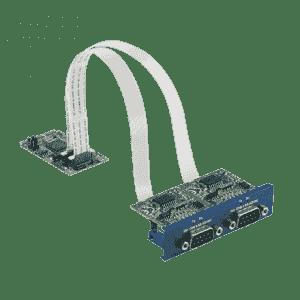 Module d'extension iDoor RS-232 isolée, DB9 x 2, (type USB)