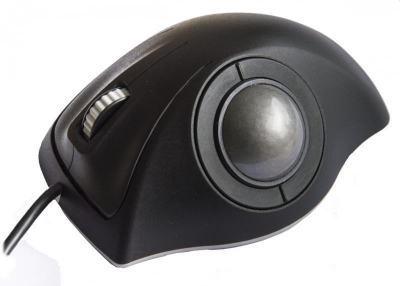 Trackball industrielle montage en panneau 50mm de diamètre Trackball laser ergonomique Etanchéité: IP68