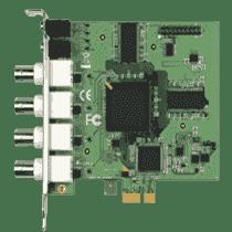 Carte industrielle d'acquisition vidéo, PCIe 4CH H.264 HW COMPRESSION VIDEO CARD