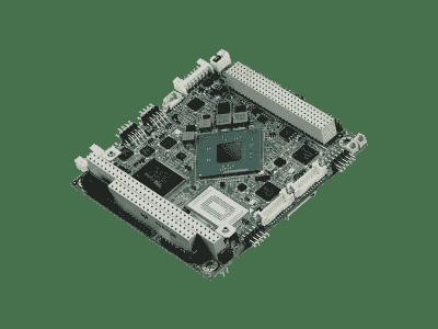Carte industrielle PC104, BT N2930 PC104+/VGA+LVDS/6USD/3COM