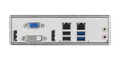 ASMB-584VG-00A1E Carte mère industrielle pour serveur, LGA 1150 uATX Server Board with 2 PCIe x8, 1 LAN