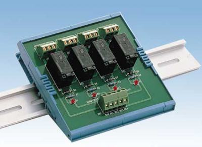 ADAM-3854-AE Bornier ADAM 4 relais sur Rail Din