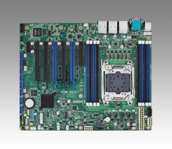 Carte mère industrielle pour serveur, LGA2011-R3 ATX SMB w/8 SATA/5 PCIe x8/2 GbE
