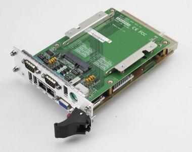 Cartes pour PC industriel CompactPCI, MIC-3325 with D525 CPU 2G RAM single slot