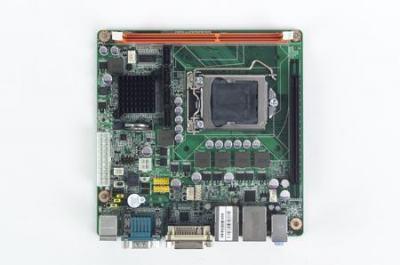 AIMB-280QG2-00A1E Carte mère industrielle, LGA1156 miniITX VGA/DVI/PCIe/2GbE/ 2COM/Q57