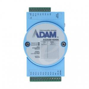 ADAM-6066-D Module ADAM Entrée/Sortie sur Ethernet Modbus TCP, MQTT et SNMP, 6 sorties Relais /6 entrées numériques