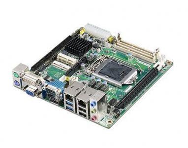 AIMB-203G2-00A1E Carte mère industrielle, miniITX LGA1150.VGA/DP/DVI/LVDS/PCIe/2GbE