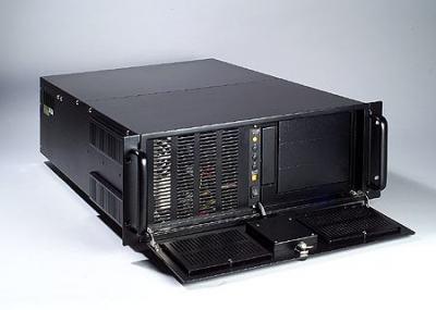 """Châssis 4U sans alimentation redondante pour PC rack 19"""" PICMG1.0 et 1.3"""