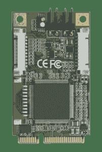 Carte industrielle d'acquisition vidéo, 4CH MiniPCI SW compression Video Capture Module