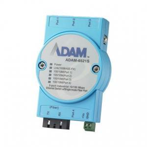 ADAM-6521S-AE Switch Rail DIN industriel ADAM 5 ports 10/100 Mbps + 1 Fibre SM