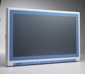 "Panel PC 21.5"" FULL HD fanless tactile Terminal patient"